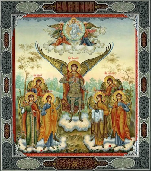 Synaxis of the Archangels Icon- Icon III