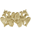 14KYG Double-Headed Eagle Custom Cufflink Set of 2