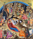 Nativity of Christ Icon- Icon V