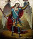 *Handpainted Icon: St. Archangel Michael