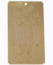 Gold Archangel Michael Ornament