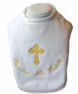 Embroidered Plush Holy Communion Bib