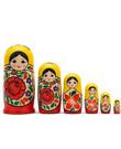 """5-pc. 3"""" Semenov Nesting Doll Set"""