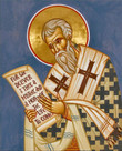St. Cyril of Alexandria Icon- Icon II