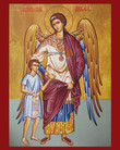 Guardian Angel with Boy Icon- Style 2