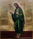 *Handpainted Icon: St. John the Baptist (Full Figure)