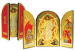 Pascha/Resurrection of Christ Icon Triptych