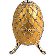 Imperial Egg Trinket Music Box- Gold