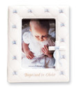 Baptized in Christ Photo Frame- Blue