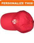 Personalized Embroidered Serbian Crest Baseball Cap- Adult Size