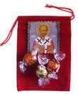 St. Nicholas Icon Magnet & Candy Gift Set