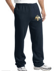Embroidered Byzantine Eagle Sweat Pants- Men's