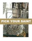 Pick-Your-Saint Laser Etched Glass Slava Hi-Ball Glass: Set of 2