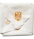 Embroidered Slava Cloth: Gold Slava Symbols- (Display Style)