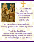 Lenten Prayer of St. Ephraim Wall Plaque