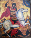 Handpainted Icon: St. George