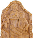 Nativity of Christ Wax Icon 7""