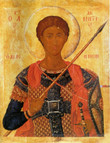 St. Demetrios Icon- Icon VIII
