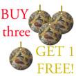 Nativity Icon Ceramic Ornaments:  Buy 3 Get 1 Free!