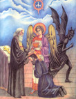 The Mystery of Holy Confession Icon