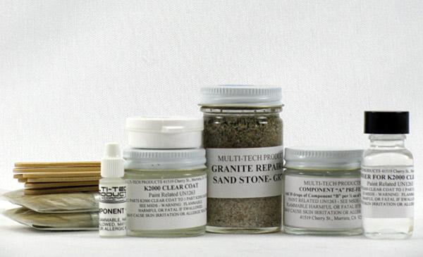 Granite Spa and Hot Tub DIY Repair Kit - Small Granite Spa/Hot Tub ...