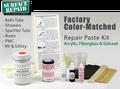 Aquatic / Lasco Bathware DIY Bath Tub & Shower Repair Kit - Standard Manufacturer (OEM) Colors