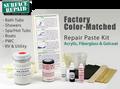 A2 Aquatic / Lasco Bathware DIY Bath Tub & Shower Repair Kit - SMC Colors