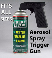Aerosol Spray Trigger Gun  hand gun, can holder, spray grip, sprayer handle, pistol grip, trigger