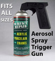 Aerosol Spray Trigger Gun  hand gun, can holder, spray grip, sprayer handle, pistol grip, trigger