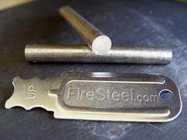 A pure, soft magnesium rod