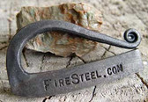 Crafted by a Master blacksmith in the Green Mountains of Vermont.  FireSteels just like these have been used for centuries