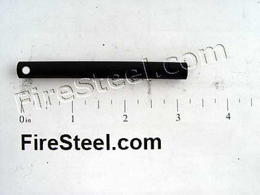 Adding a lanyard hole to your FireSteel allows you to thread a lanyard for attachment to your gear or for easier holding