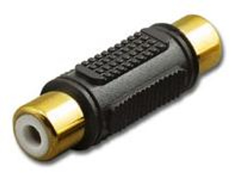 RCA Double Female In-Line Couple Adapter Connector - RCA-6194