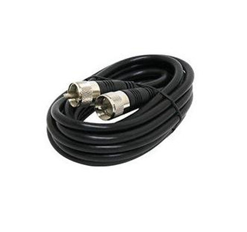 OPEK 3 Foot - Low-Loss RG-8X Coaxial Cable with PL-259 Connectors