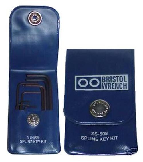 Bristol SS-508 - Spline Wrench Set for Hallicrafters Radios Screws
