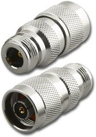 RP-N Male to Type N-Female Coaxial Adapter Connector