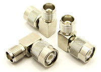 TNC Male / Female Right Angle Elbow Coaxial Adapter Connector