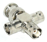 BNC 'X' Configuration Coaxial Adapter Connector - SKU 2238