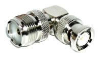 OPEK AT-7089 BNC-Male to SO-239 Right Angle Coaxial Adapter Connector