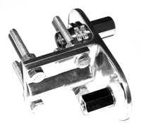 OPEK AM-1102 Dual 3-Way Aluminum Antenna Mount - 3/8-24 to SO-239 Stud