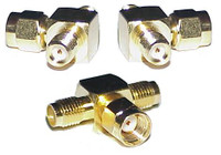 RP-SMA-Male to SMA-Female Tee Coaxial Adapter Connector