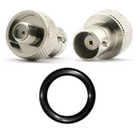 SMA to BNC Antenna Adapter Kit for Baofeng UV-5R   Comes With O-Ring