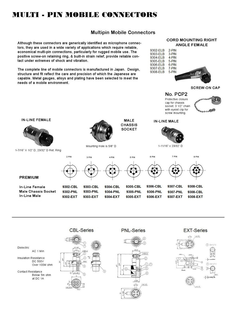9300_Series_Electrical_Connector_Datasheet__83382.1470262143.1280.1280?c\=2 procomm 5 pin power mic wiring diagram procomm wiring diagrams  at edmiracle.co