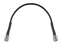 12-Inch Long - SMA-Male to SMA-Male Coaxial Cable Pigtail RG-174