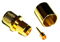 SMA-Male Coaxial Crimp Connector for LMR400 Coaxial Cable ARS-G805