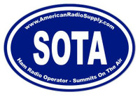 SOTA Radio Sticker - American Radio Supply