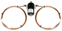 Radio Oasis 75-Meter 1/2-Wave Wire Antenna Dipole Inverted V