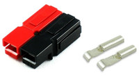 15 Amp Red/Black DC Pwr Plug Connector Set