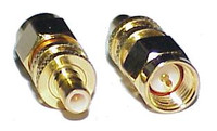 SMA-Male to SMB-Jack Coaxial Adapter Connector