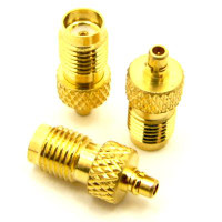 MMCX Male Plug to SMA Female Coaxial Adapter Connector